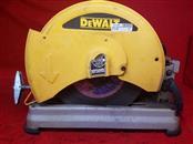 """DeWALT D28715R 14"""" Metal Cutting Quick Change Chop Saw"""